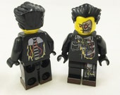 Al B. Back aka Terminator Custom LEGO Minifigure LIMITED EDITION