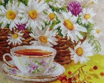 Cross Stitch Kit by Alisa - The afternoon tea