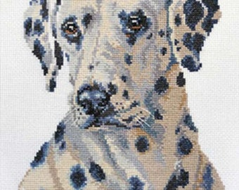 Cross Stitch Kit by Alisa - Dalmatian