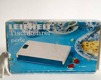 Vintage Leifheit table top sweeper