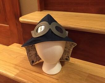 Navy Navigator aviator hood
