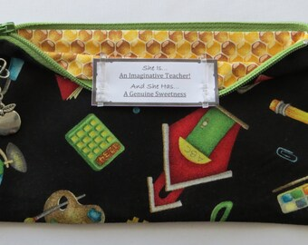 Persette #226 Personalized Zippered Organizing Pouch