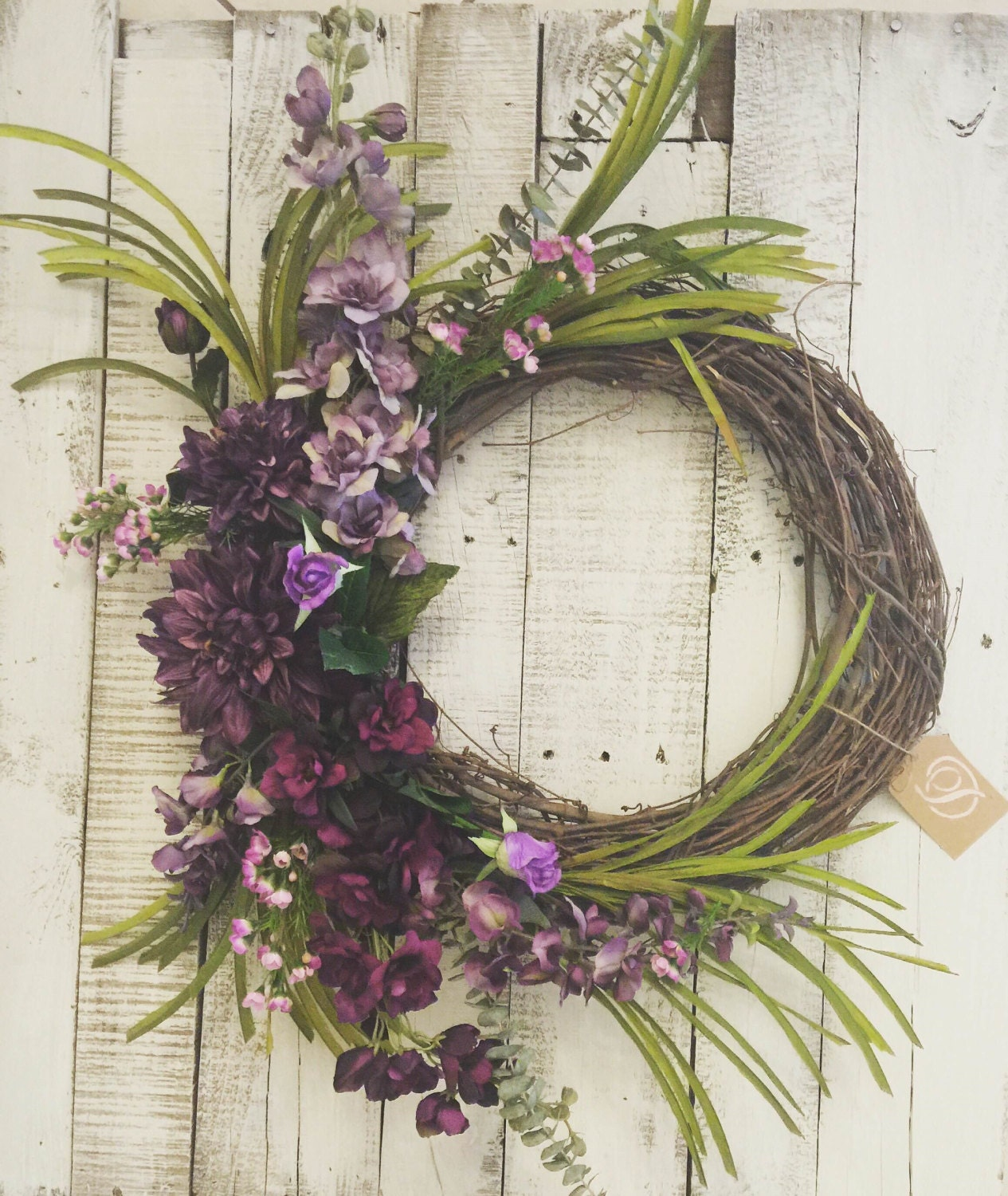 Fall Wreaths For Front Door Unique Purple Birthday Gift