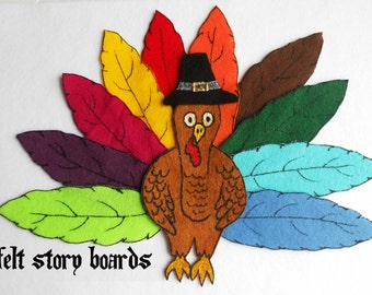 Felt Turkey/ Flannel Board Stories