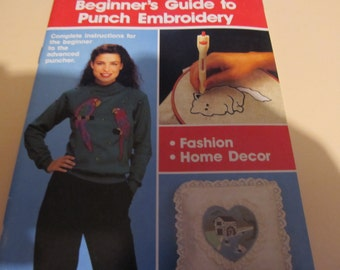 Purr-fect Puch Beginner's Guide to Punch Embroidery Book