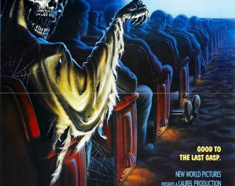 CREEPSHOW 2 Movie Poster Horror Stephen King