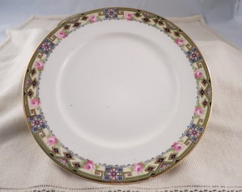 Antique Dessert Plates Four Vintage China Dishes Appetizer Plates Shabby Cottage Style