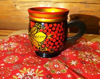 Cup khokhloma