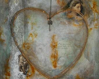 Romantic Heart 50x50cm