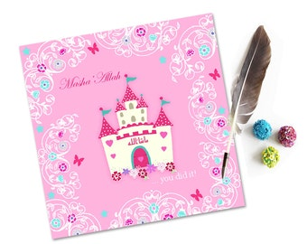 Masha'Allah You Did It.... Islamic Congratulations Girls Card