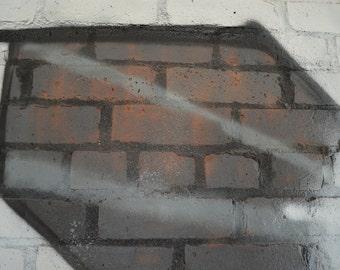 Large Abstract Graffiti Print, Graffiti Art Canvas, Large Wall Art Canvas, Abstract Black and White Wall Art, Ready To Hang * Free Shipping: