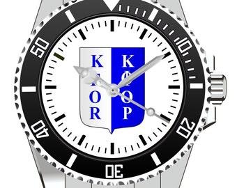 KFOR Wappen  KIESENBERG ® Uhr 1015