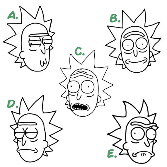 Coloring Pages Rick And Morty : Rick and morty valentine coloring page pages