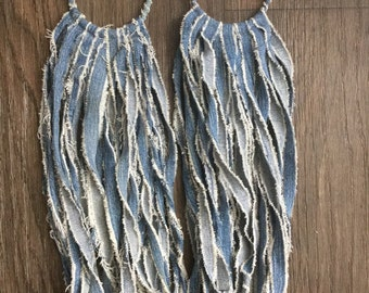 Ase' fringe earrings