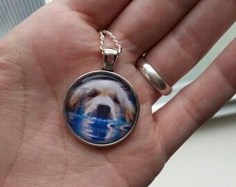Custom 1in Pet Pendant