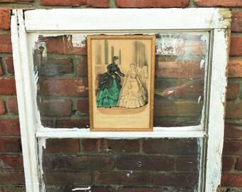Heloise Leloir 1869 French Fashion Framed Wall Decor Women's Fashion French Fashion History Wedding Gift