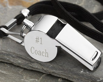 Personalized Whistle - #1 Coach