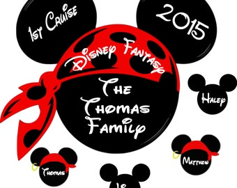 Custom Disney Cruise Magnet - Personalized Door Magnet - Sign
