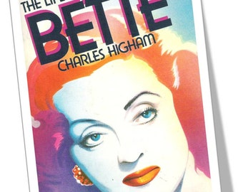 The LIFE Of BETTE DAVIS, By Charles Higham