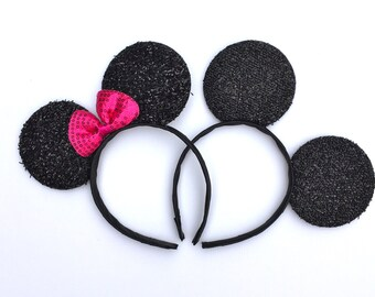 Minnie Mouse Ears, Disney Headband