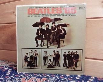 The Beatles - Beatles '65 - 33 1/3 Vinyl Record