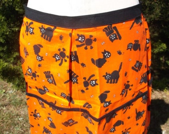 XL Halloween Vendor Apron Clearance  50% Off