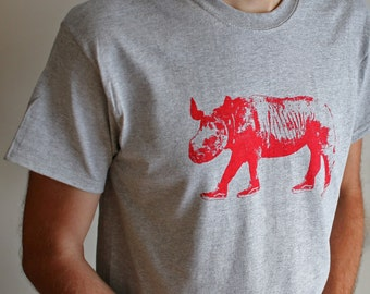 Rhino with Sneakers T-Shirt