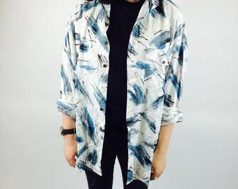 Vintage oversized pattern shirt