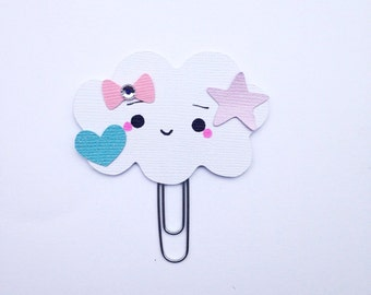 Dreamy Pastels Cloud Paper clip