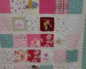 Memory clothes quilt, baby first year, baby blanket, baby, toddler, mother's day gift, memory quilt, baby onesie quilt
