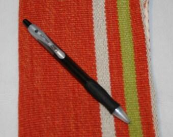 Server Book - Orange Stripes