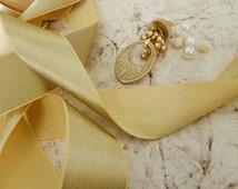 Gold Gota Trim,  Zari Trim, Indian Trim, Bridal Wear Embellishment, Indian Ribbon