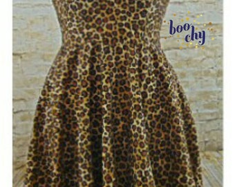 Wild Child Vintage Style Handmade Dress