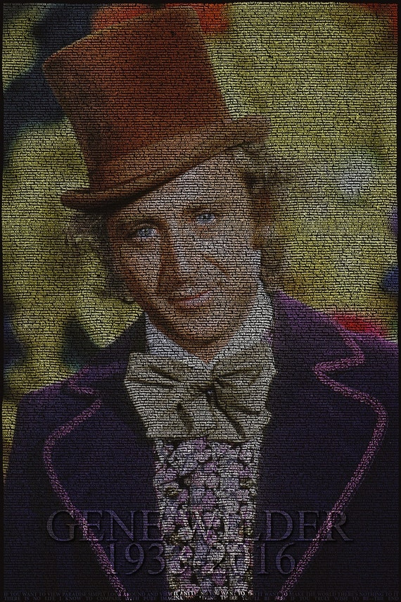 gene wilder willy wonka and the chocolate factory script