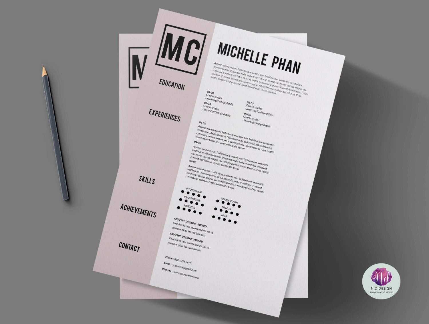 1 page cv template cover letter template references zoom madrichimfo Choice Image