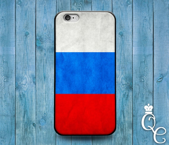 iPhone 4 4s 5 5s 5c SE 6 6s 7 plus iPod Touch 4th 5th 6th Gen Blue White Red Country Flags Russian Russia Cute Fun Flag Case Phone Cover