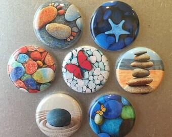 Zen Magnets - set of 7