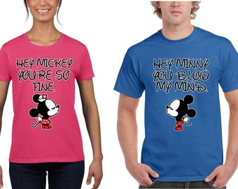 You are so fine You blow my mind Couples Matching Romantic T-shirts