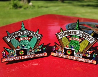 "Summer Camp 2016 ""Thievery Corporation"" Pin"