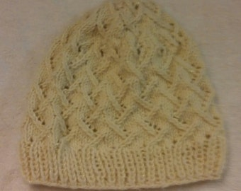 Lacy Knit Hat