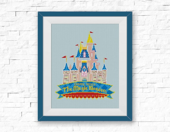 Bogo Free Disney Castle Cross Stitch Pattern Disney