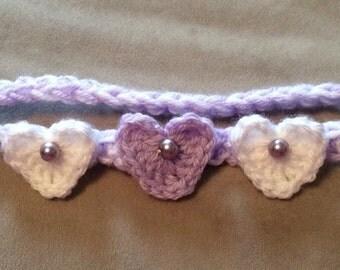 Hearts and Pearls Headband