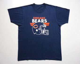 Vintage 80's Tee-Shirt American Football team Chicago Bears