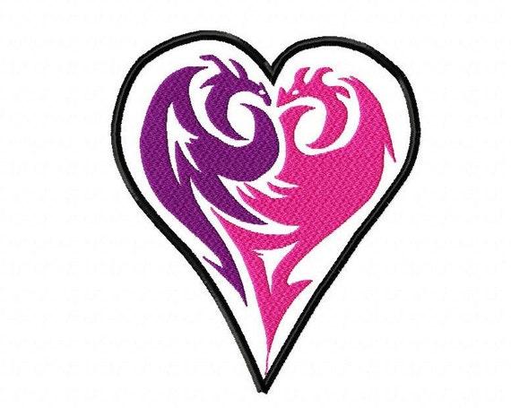 Disney Descendants Mal\'s Icon Applique Embroidery