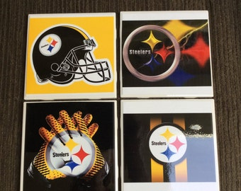 Steeler Coasters