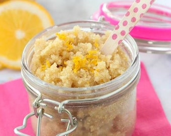 Lemon Kitchen Hand Scrub