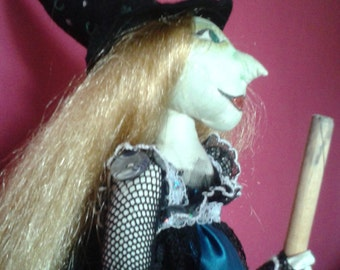 Witch Art Doll.