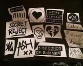 5sos Vinyl Stickers
