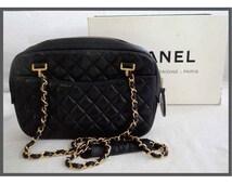 CHANEL bag model CAMERA / hand Chanel handbag / shoulder Chanel bag