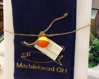 Microfiber Fishing Towel and Cutting Board